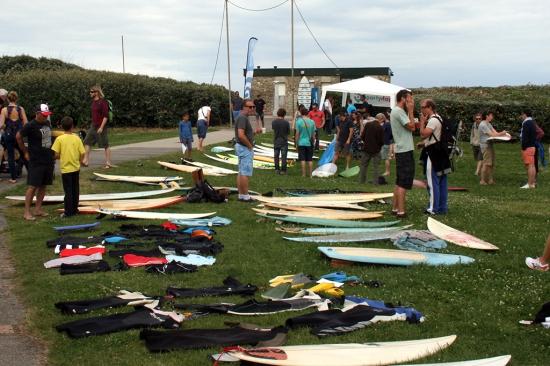 Brocante surf Surfrider - édition 2016 - pelouse des Cavalier - Anglet